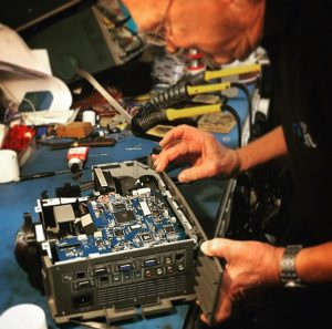 MBS IT Projector Repair