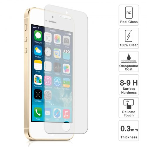 iPhone 5/5C/5S Tempered Shield
