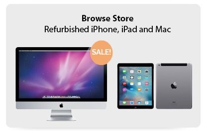 Online Store - Refurbished iPhone, iPad and Apple Mac